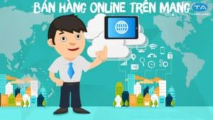 kinh doanh trực tuyến trên mạng
