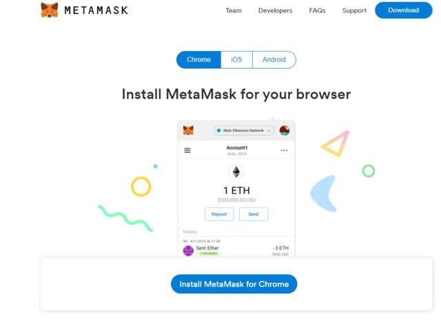 Hướng dẫn cài đặt ví MetaMask trên trình duyệt Chrome